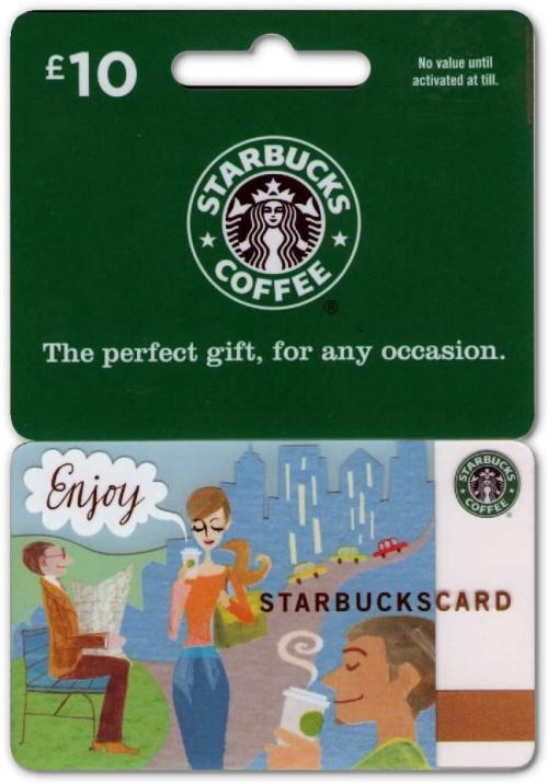 TheGiftCardCentre.co.uk Starbucks Gift Card