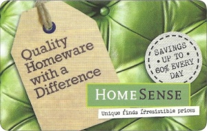 HomeSense Gift Card