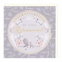 Congratulations on your Retirement card